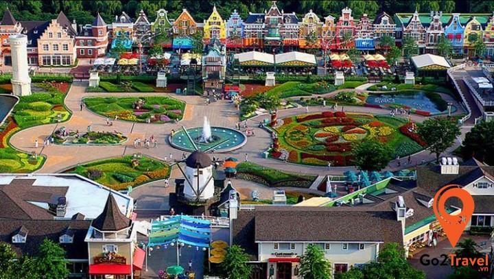 Công viên giải trí lớn nhất của Hàn Quốc