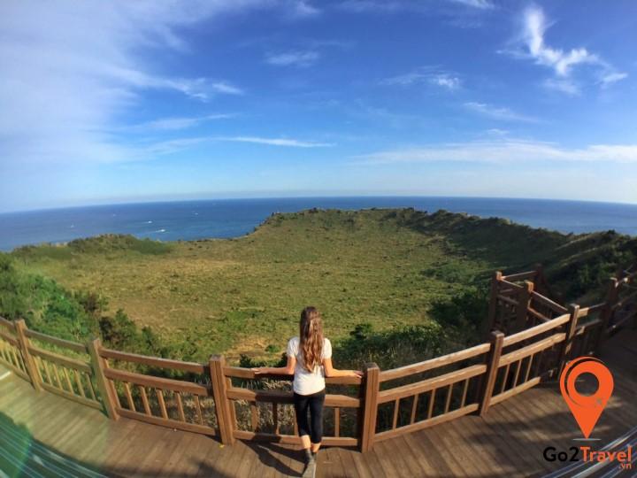 Đảo Jeju là một trong những điểm tráng nóng mùa hè ở Hàn Quốc
