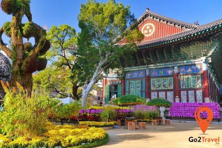 Chùa Jogyesa còn được gọi với tên khác là chùa Tào Kh