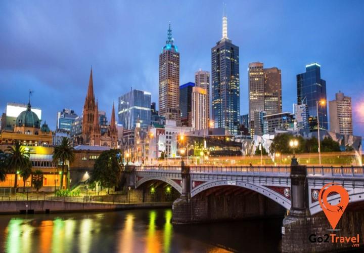 Thành phố văn hóa thế giới Melbourne