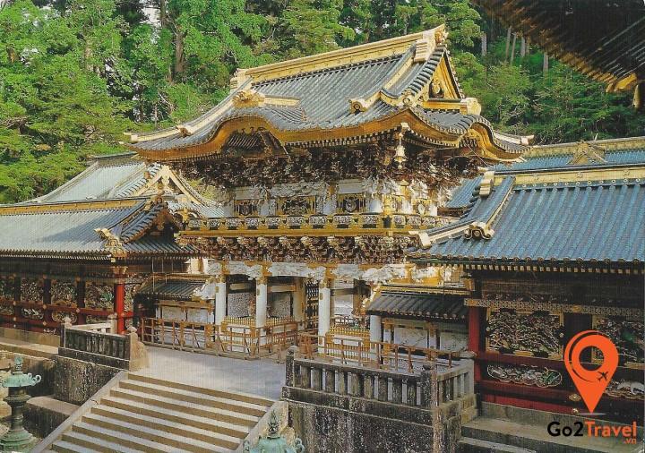 Đền Nikko Tosho-gu.