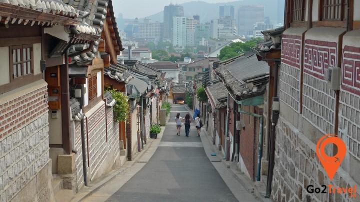 Một góc Samcheong-dong