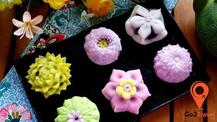 Các loại bánh ngọt Wagashi