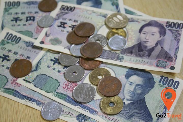 đổi tiền Nhật