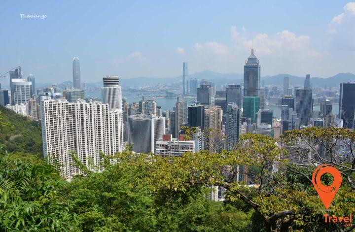 Hồng Kong nhìn từ núi Peak