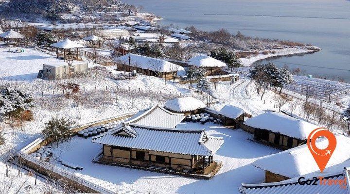 mùa đông ở Hàn quốc