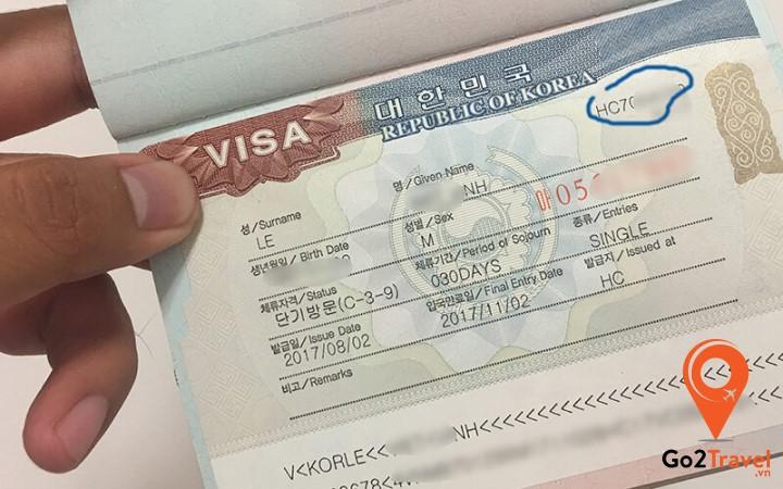 Kinh nghiệm xin visa đi du lịch Hàn Quốc mới nhất