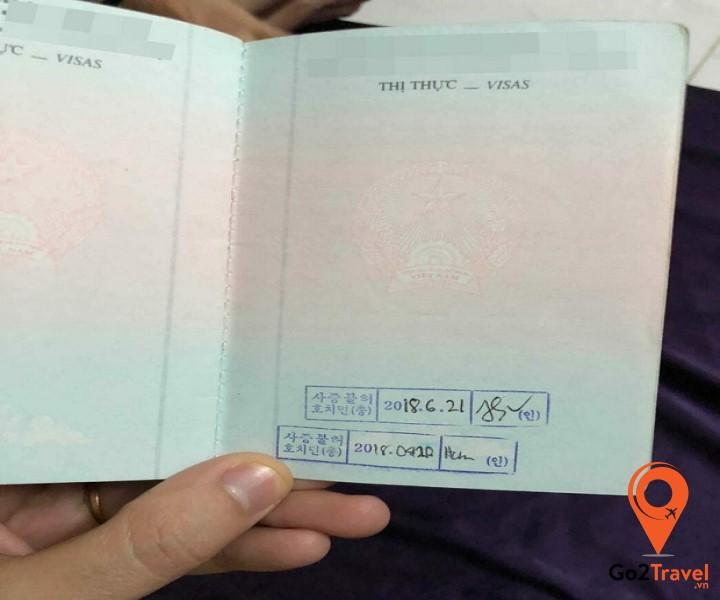 Lưu ý khi nộp hồ sơ xin visa Hàn Quốc