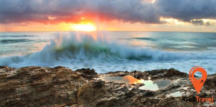 những đọt sóng lớn