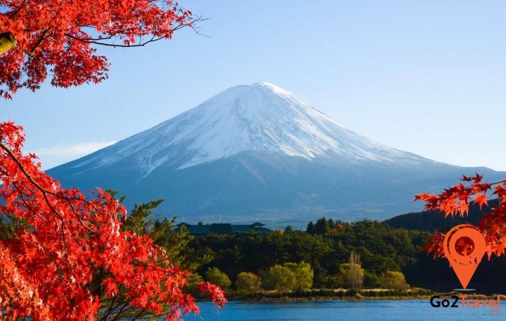 mùa thu núi Phú Sỹ