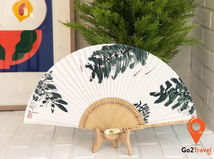 Quạt giấy truyền thống Hàn Quốc