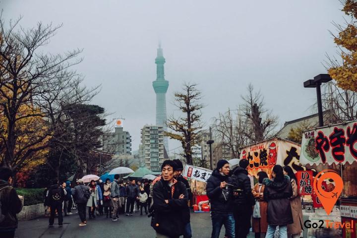 Tokyo hiện đại, nhộn nhịp là thiên đường du lịch của mọi du khách