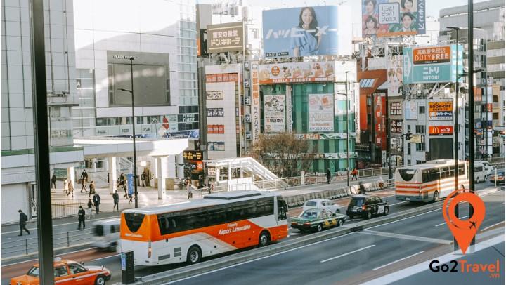 Du khách nên dành từ 2-3 ngày để khám phá thủ đô nước Nhật