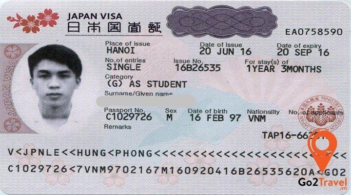 visa multiple Nhật Bản