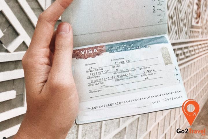 Visa du lịch Hàn Quốc ngắn hạn kí hiệu C-3-9