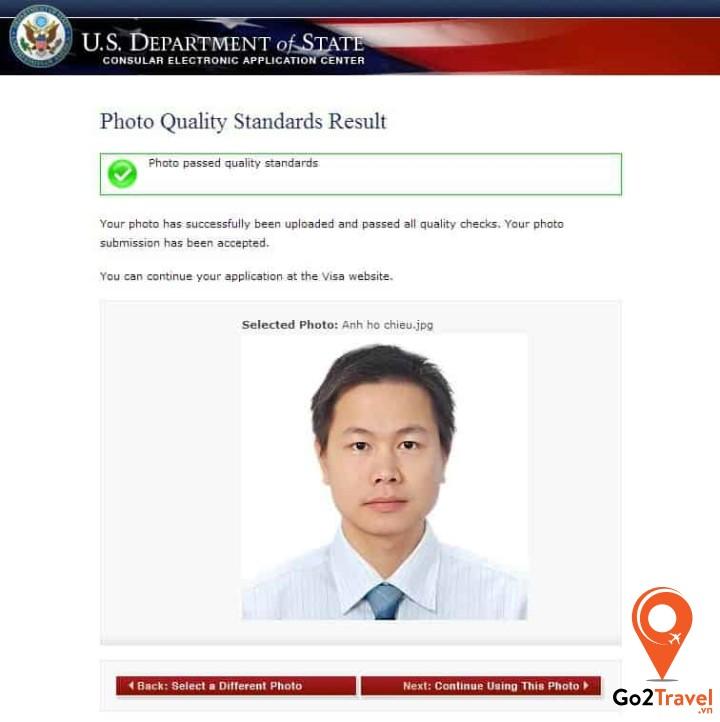 Upload ảnh hộ chiếu sau khi đã có file mềm