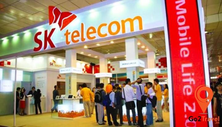 SK Telecom là một nhà mạng lớn được tin dùng tại Hàn Quốc.