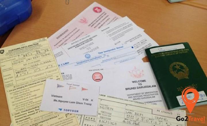 giấy tờ, hồ sơ