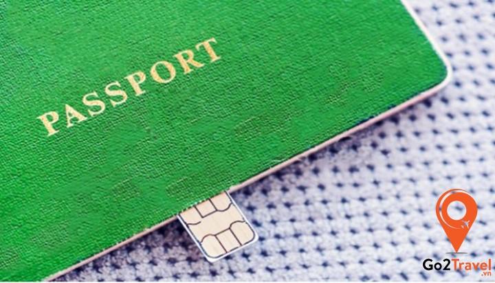 bạn vẫn phải xuất trình passport nếu mua sim ở sân bay nhé
