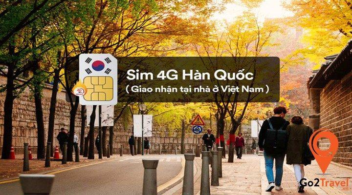 sim du lịch Hàn Quốc
