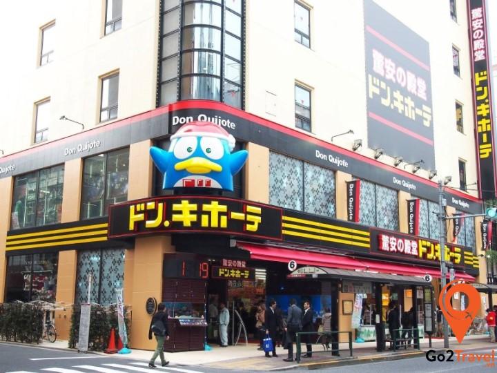 Don Quijote được mệnh danh là chuỗi cửa hàng có tất cả mọi thứ của Nhật Bản