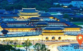 cung điện Gyeongbok ling linh
