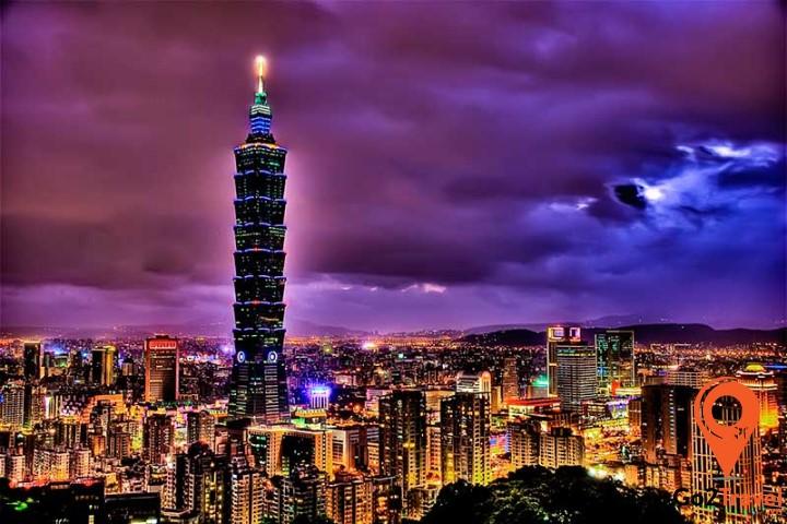 Tòa nhà Taipei 101 là biểu tượng của Đài Bắc