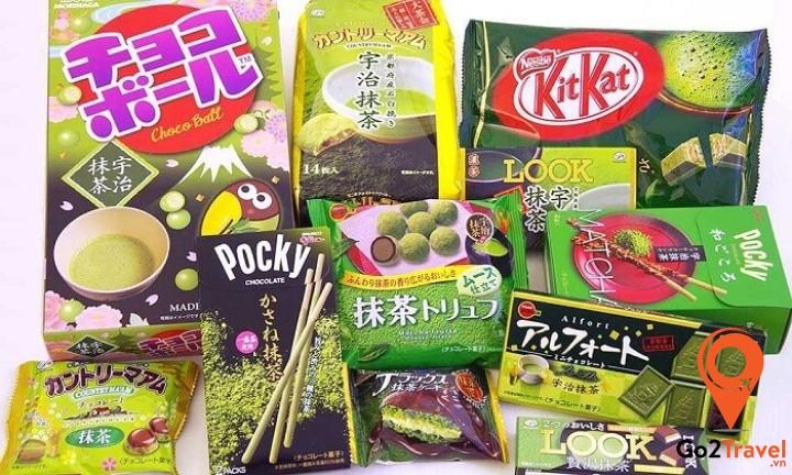 Các loại bánh kẹo Hàn Quốc
