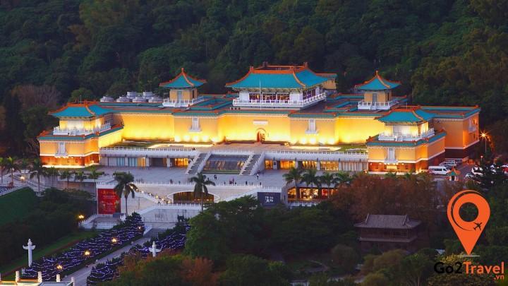 Bảo tàng Cung điện Quốc gia sẽ là điểm đến cho những ai quan tâm về lịch sử nói chung và lịch sử Trung Hoa nói riêng