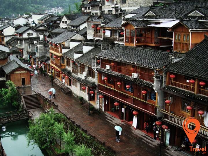 Những công trình kiến trúc này được xây dựng từ thời nhà Minh và nhà Thanh