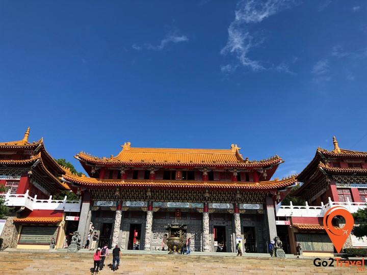 Đến thăm chùa Wenwu thờ những vị thần của người Trung Hoa