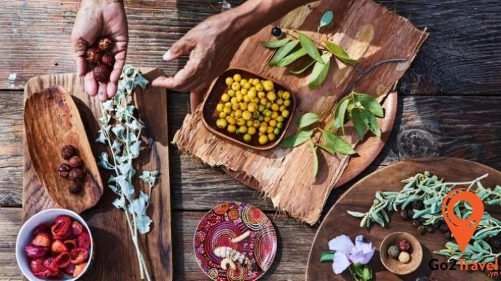 món ăn hết sức đặc biệt có nguồn gốc từ các món ăn nguyên thủy của thổ dân xưa