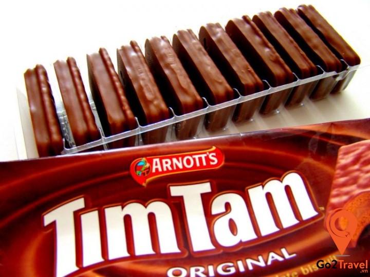 Tim Tam sinh ra để làm thỏa mãn những người có tình yêu đặc biệt dành cho sô cô la