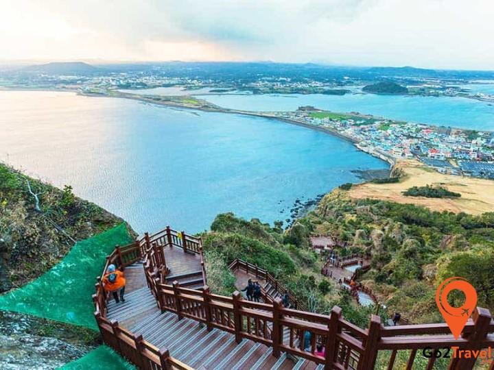 Jeju là hòn đảo xinh đẹp đáng đến khi du lịch Hàn Quốc