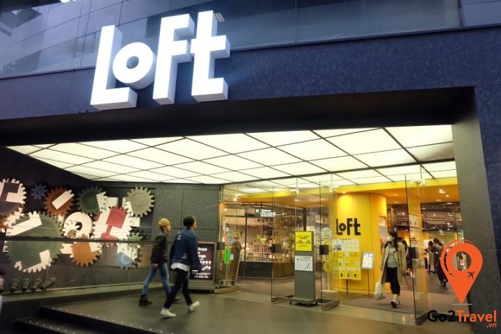 Loft là một cửa hàng tạp hóa nổi tiếng khác của Nhật Bản