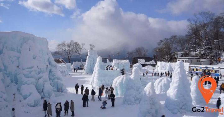 Lễ hội Tuyết ở Hokkaido