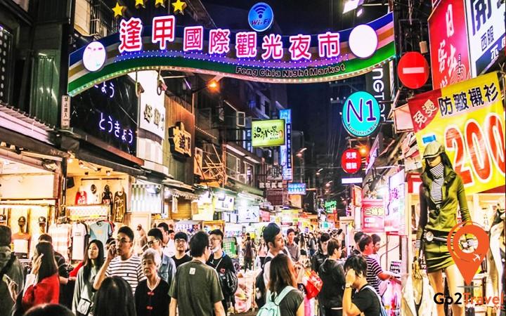 Không khí mua sắm Tết nhộn nhịp ở Đài Loan
