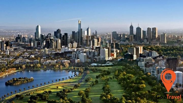 thành phố Melbourne nằm trong top các thành phố đáng sống nhất trên thế giới