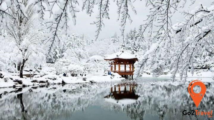 Khung cảnh mùa đông Hàn Quốc