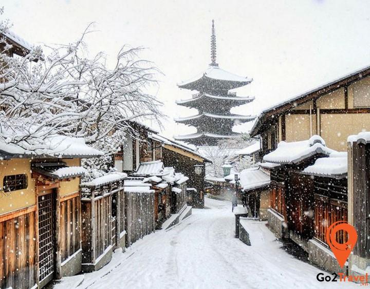 Vẻ đẹp thành phố Kyoto
