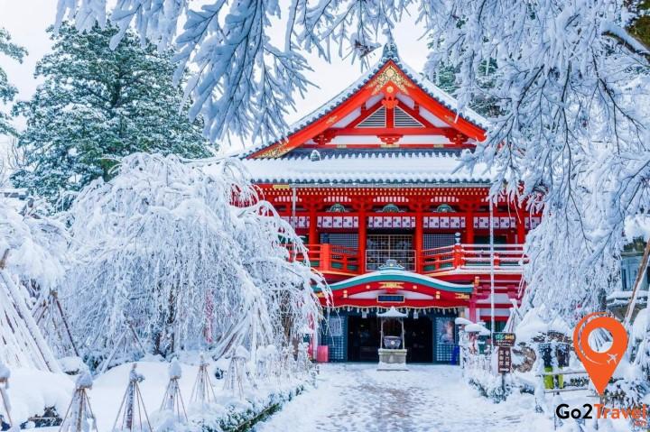 Khung cảnh Nhật Bản vào mùa đông