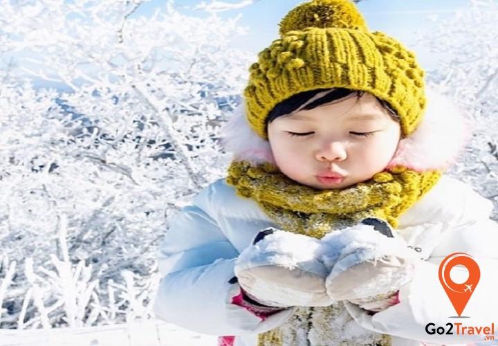 Mùa đông ở Hàn Quốc rất lạnh
