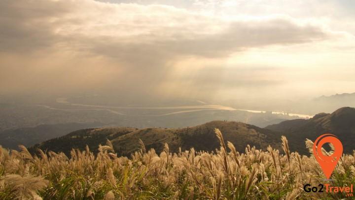 Vẻ đẹp núi Yangming