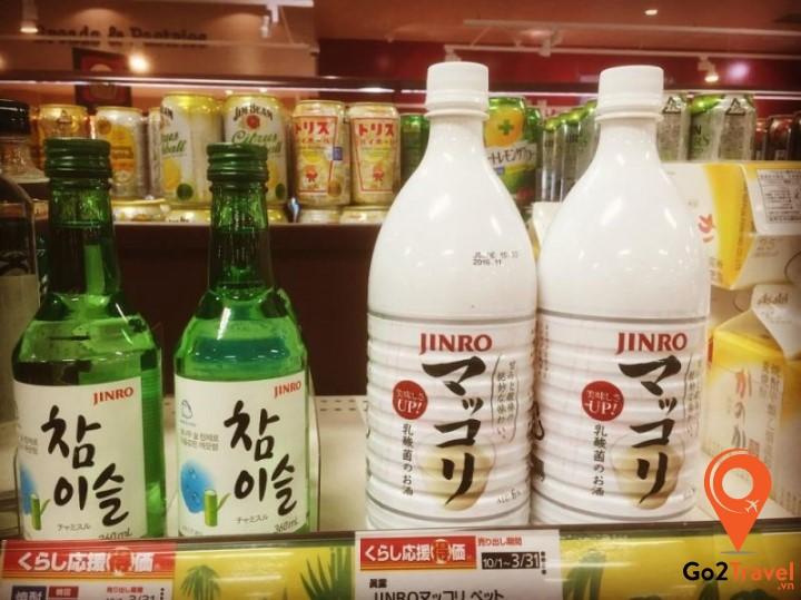 các loại rượu Hàn Quốc