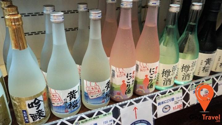Sake là loại rượu Nhật Bản được làm từ gạo