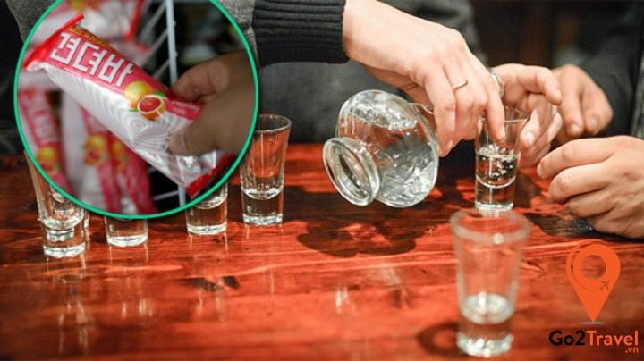 các sản phẩm giải rượu