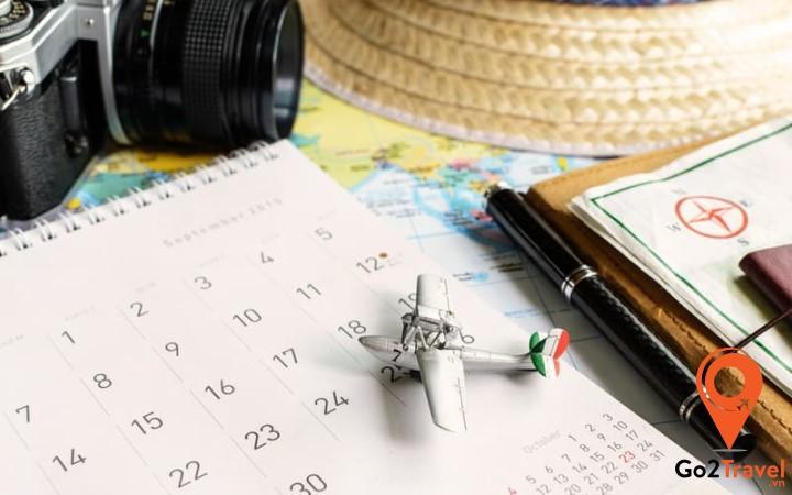 Xác định thời gian cho chuyến du lịch Tết từ sớm