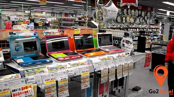 Các mặt hàng điện tử Nhật Bản luôn được đánh giá cao về chất lượng