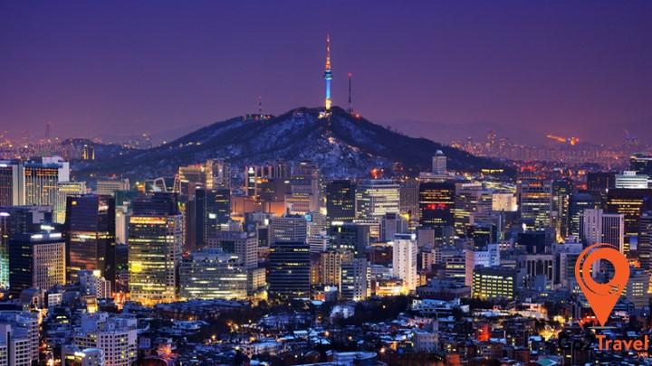 Seoul là một trong những điểm đến hấp dẫn mỗi khi Tết đến tại Hàn Quốc
