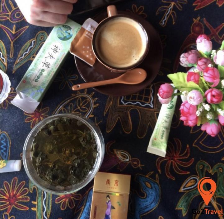 vị trà thanh sạch sâu lắng sẽ giúp nâng tâm hồn bạn đến một miền cảm xúc đẹp hơn